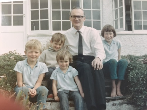 Peter, Jamie, Ivor, Emma and Sophie